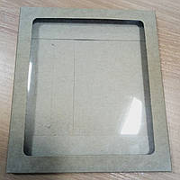Коробка-конверт для подарков крафт (170*150*7 мм), фото 1