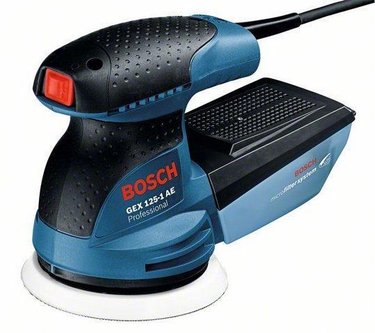 Эксцентриковая шлифмашина Bosch GEX 125-1 АЕ (в чемодане)