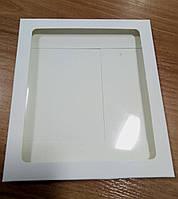 Коробка-конверт для подарунків біла (170*150*7 мм)
