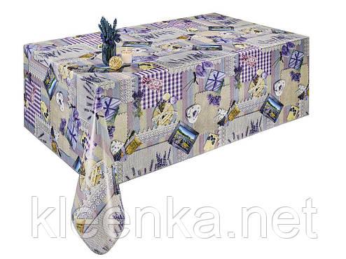 Скатерть клеёнка на стол в стиле Прованс, фото 2