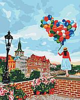 Картина по номерам По крышам Праги