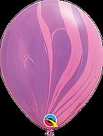"Q 11"" Супер Агат Pink Violet"