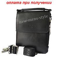 Чоловіча шкіряна фірмова сумка барсетка Polo купити, фото 1