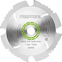 Пильный диск с алмазным зубом 160 x 2,2 x 20 мм DIA4 Festool 201910