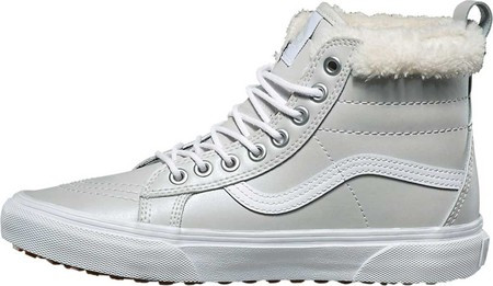 16aba20a95fa Женские ботинки Vans Sk8-Hi MTE MTE Metallic Leather/Silver