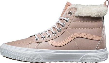 741e20acdf45 Женские ботинки Vans Sk8-Hi MTE MTE Metallic Leather/Soft Pink