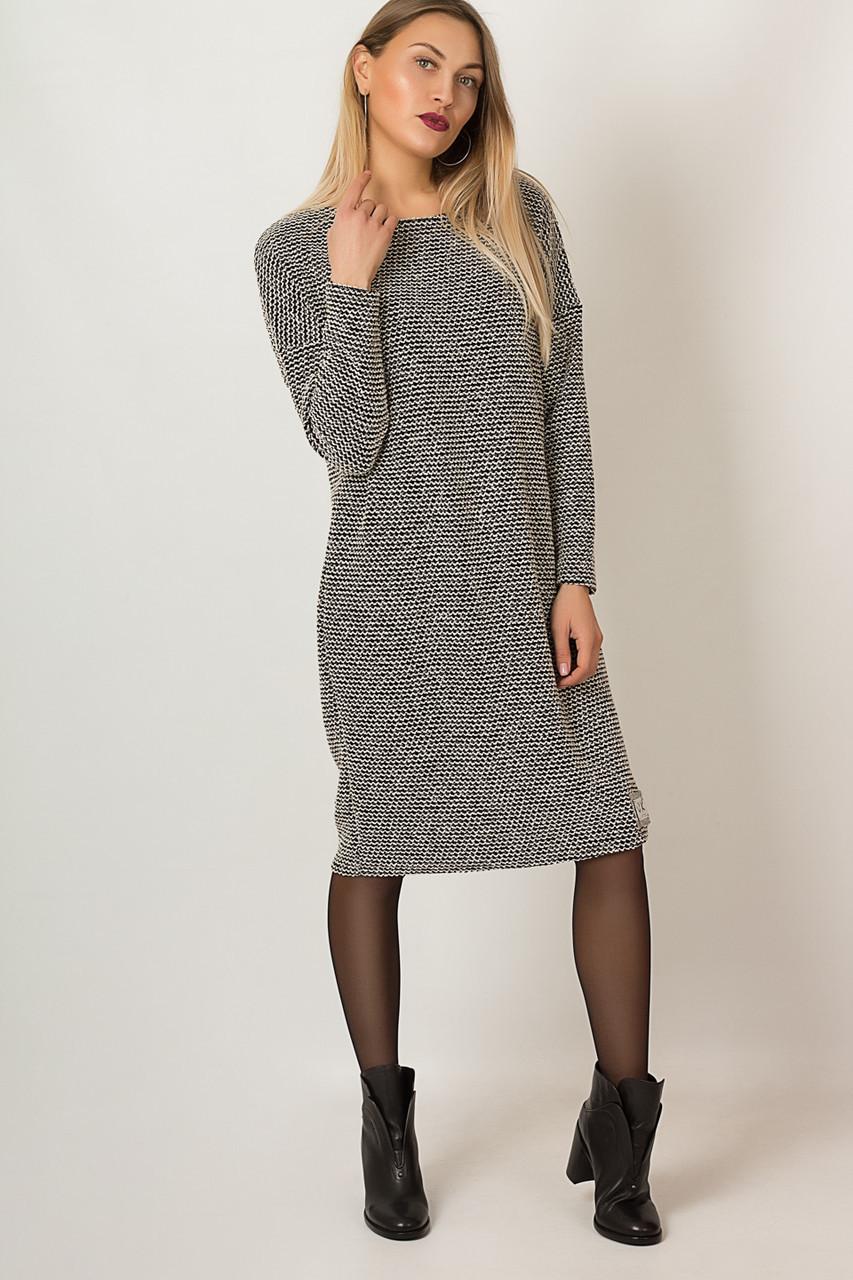 Платье LiLove р15123 54-56 серый