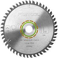 Пильный диск универсальныйс разведенными зубьями 160 х 20 х 2,2 мм W 48 Festool 491952, фото 1