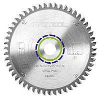 Пильный диск с трапециевидными плоскими зубьями для алюминия 160 х 20  х 2,2 мм TF52 Festool 496306, фото 1
