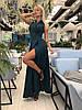 Длинное платье на запах с карманами / 4 цвета арт 8426-613, фото 8