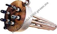 """Блок-ТЕН С внутренней резьбой 2,5"""" на  12 кВт из 3-х тенов, для электрического котла отопления"""
