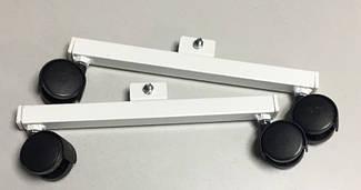Ножки с роликами для обогревателей LIFEX Double Floor (белый)