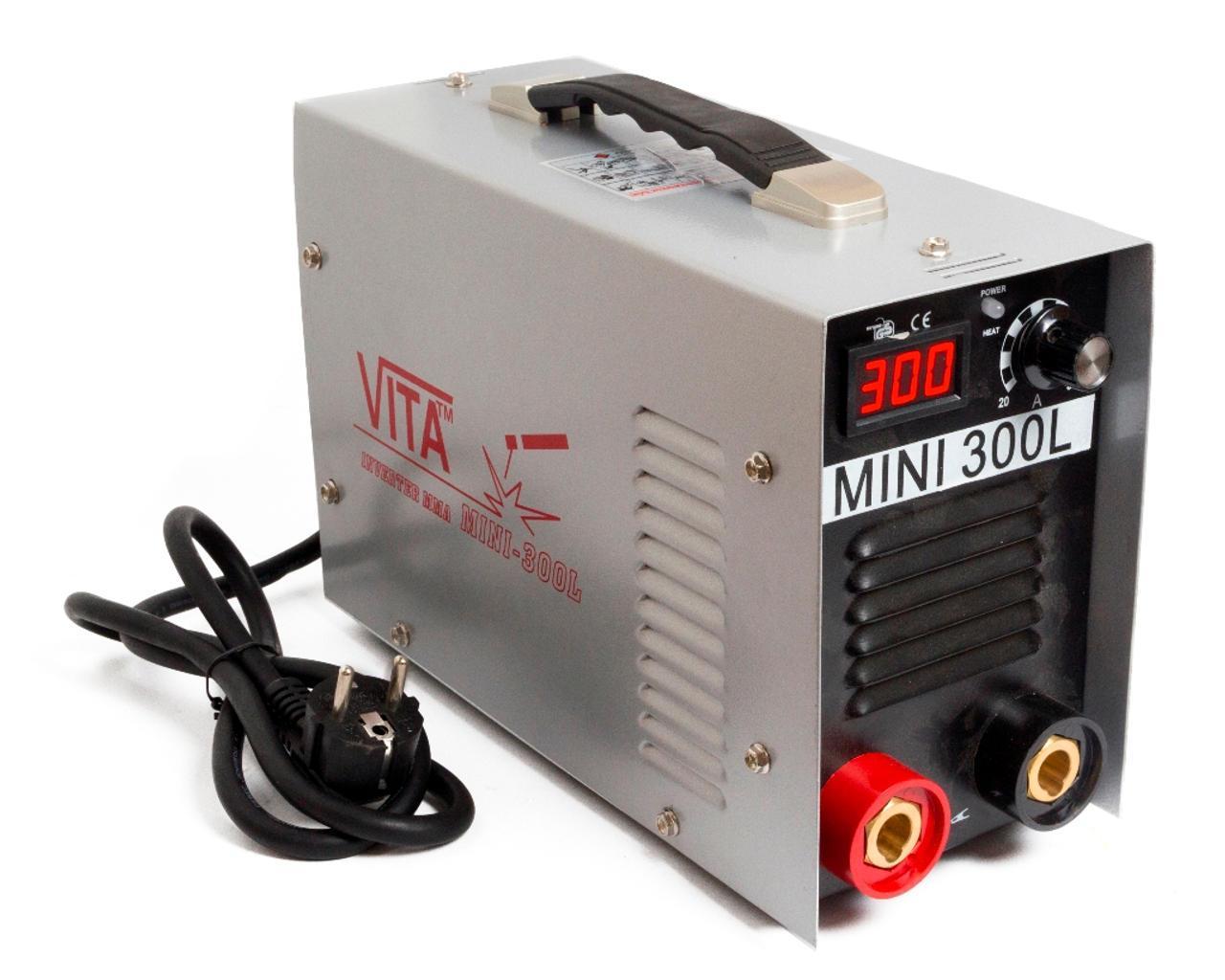 Инвертор ММА-300 mini в металлическом кейсе