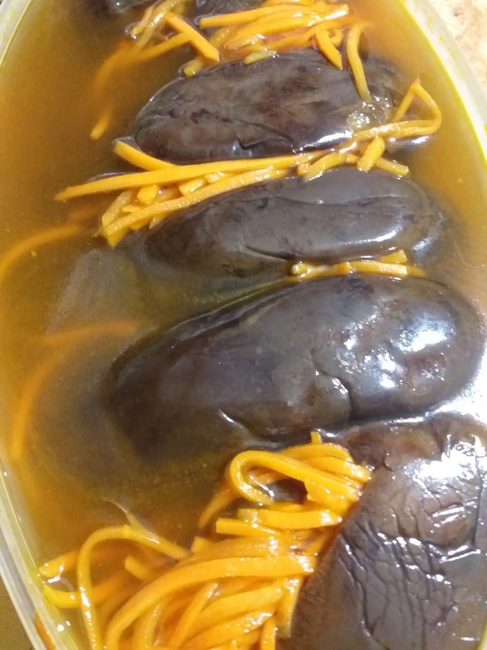 Баклажаны с морковкой 1кг
