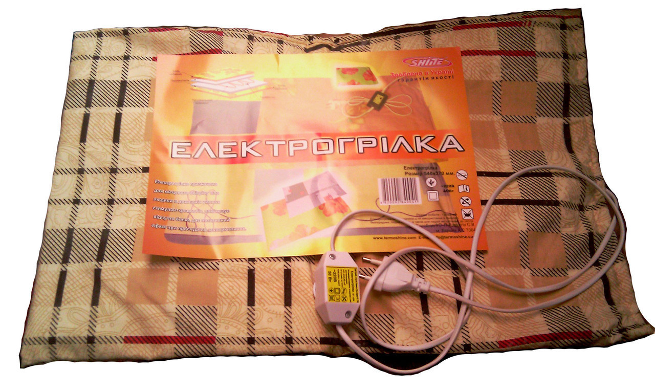 Электро одеяло 100\165мм с регулятором