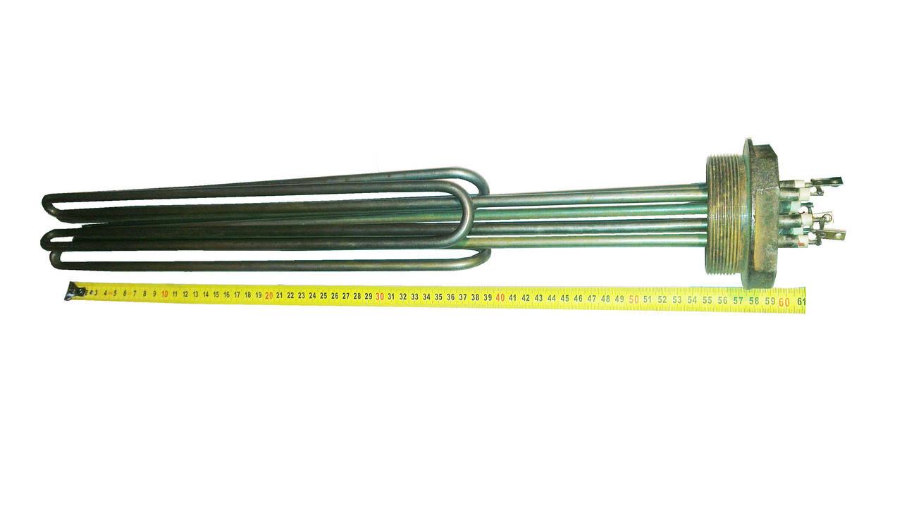 """Блок-ТЕН 2,5"""" на 15,0 кВт из 3-х тенов, для электрического котла отопления"""