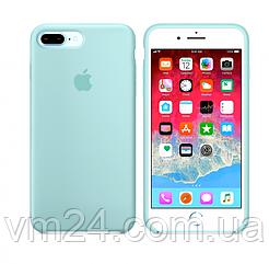 Силиконовый чехол Apple Silicone Case for iPhone  7/8  SE 2020 цвета Мятный Зеленый Mint