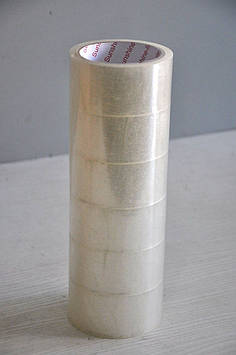 Скотч упаковочный, 45 мм, М-03, 30м, Прозрачный