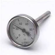 "Термометр 1\2"" на 120`C -термопара-10 см"