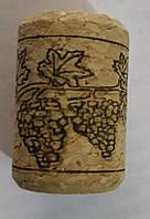 Корковая пробка винная 22*33мм