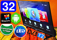 "Телевизор SmartTV Samsung 32"" MSD338 FullHD,LED, IPTV, Android, T2, WIFI, USB"