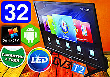 "Телевизор SmartTV Samsung 32"" 4K 3840x2160,LED, IPTV, Android 9, T2,WIFI,USB"