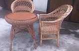 """2 кресла """"Обычные"""" и круглый стол """"Гриб"""", фото 2"""