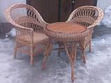 """2 кресла """"Обычные"""" и круглый стол """"Гриб"""", фото 4"""