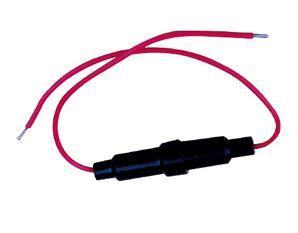 Держатель предохранителя 5 x 20 mm с проводами. 1 шт.