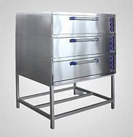 Шкаф пекарский Abat ЭШ-3К (лицевая нерж.)