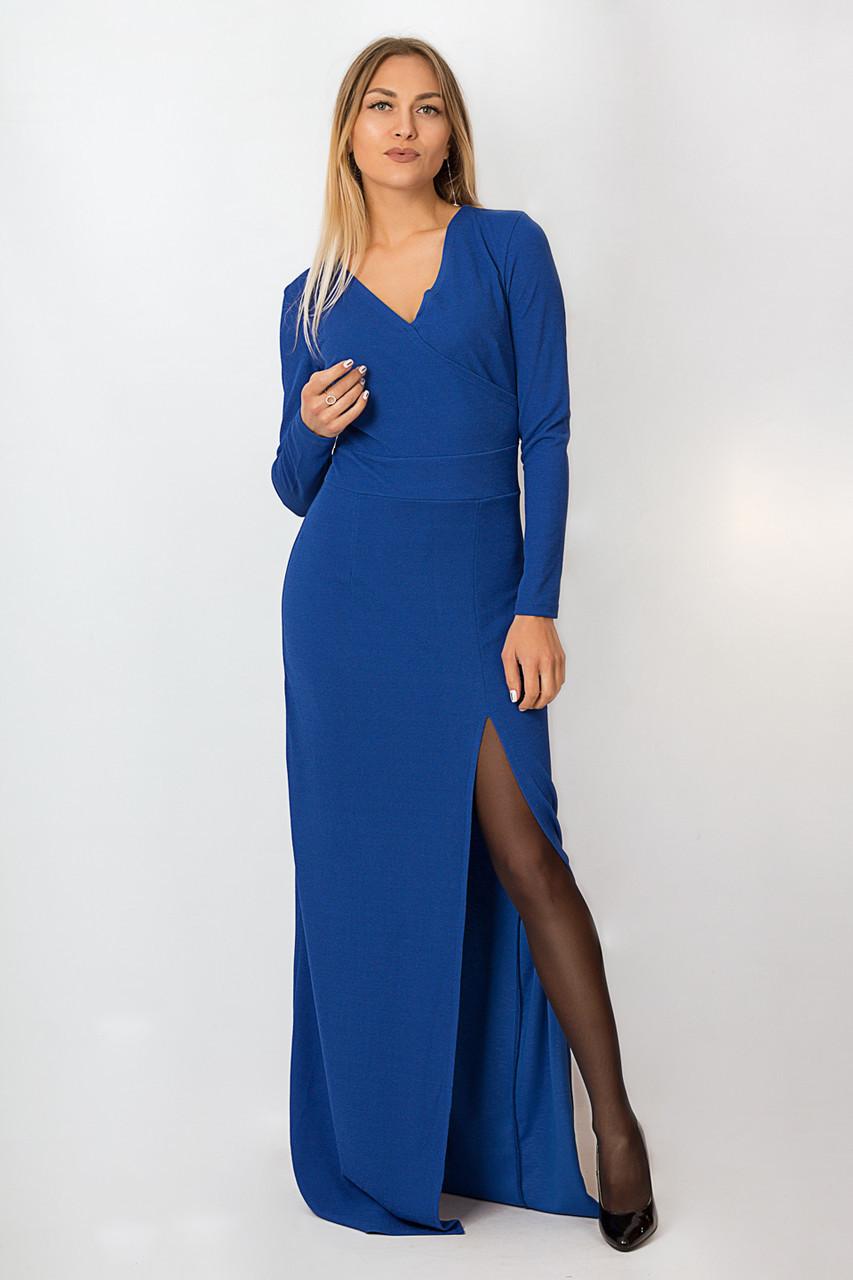 Платье LiLove р15136 54-56 электрик
