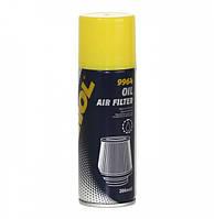 Пропитка для воздушных фильтров нулевого сопротивления Mannol Air Filter Oil (200мл)