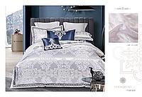 Комплект постельного белья Word of Dream сатин-жаккард семейный с вышивкой FSM 406 арт.14468