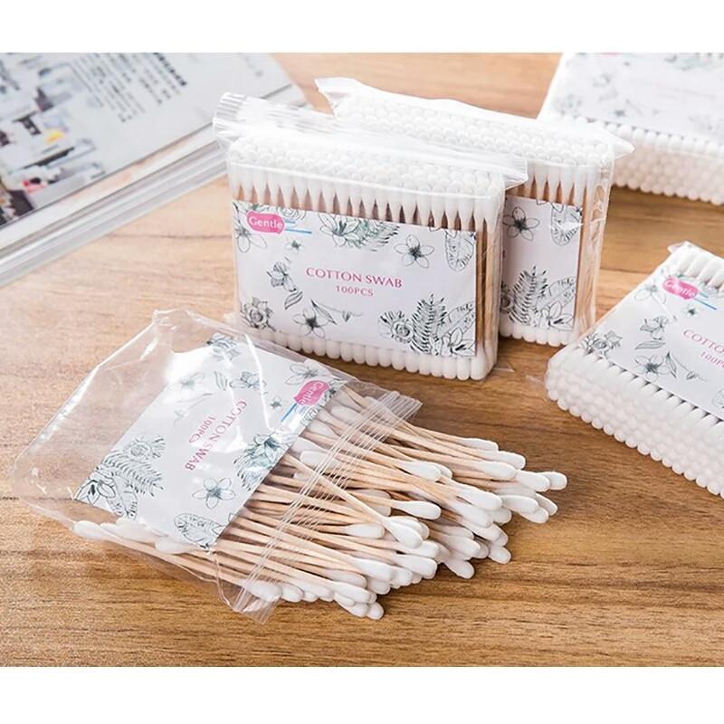 Бамбуковые хлопковые палочки
