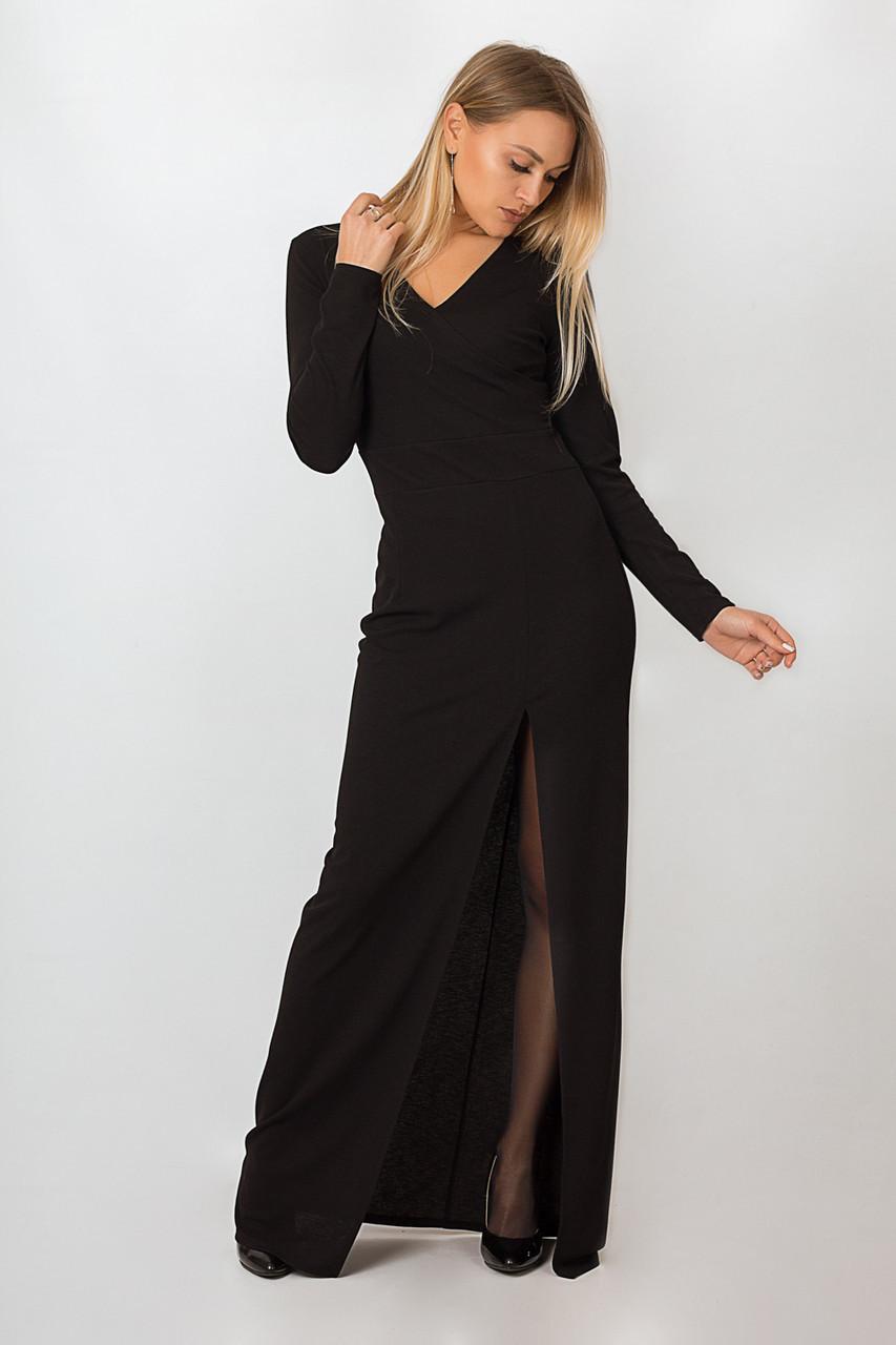 Платье LiLove р15136-2 54-56 черный