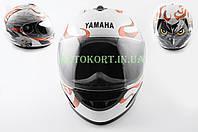 Шлем-интеграл   (mod:HAWK) (size:XL, белый) Ш14   YMH