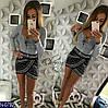 Кофта жіноча Тканина: джерсі Кольори: сірий, бордо Фурнітура в комплекті.Розмір: 42-46, фото 2
