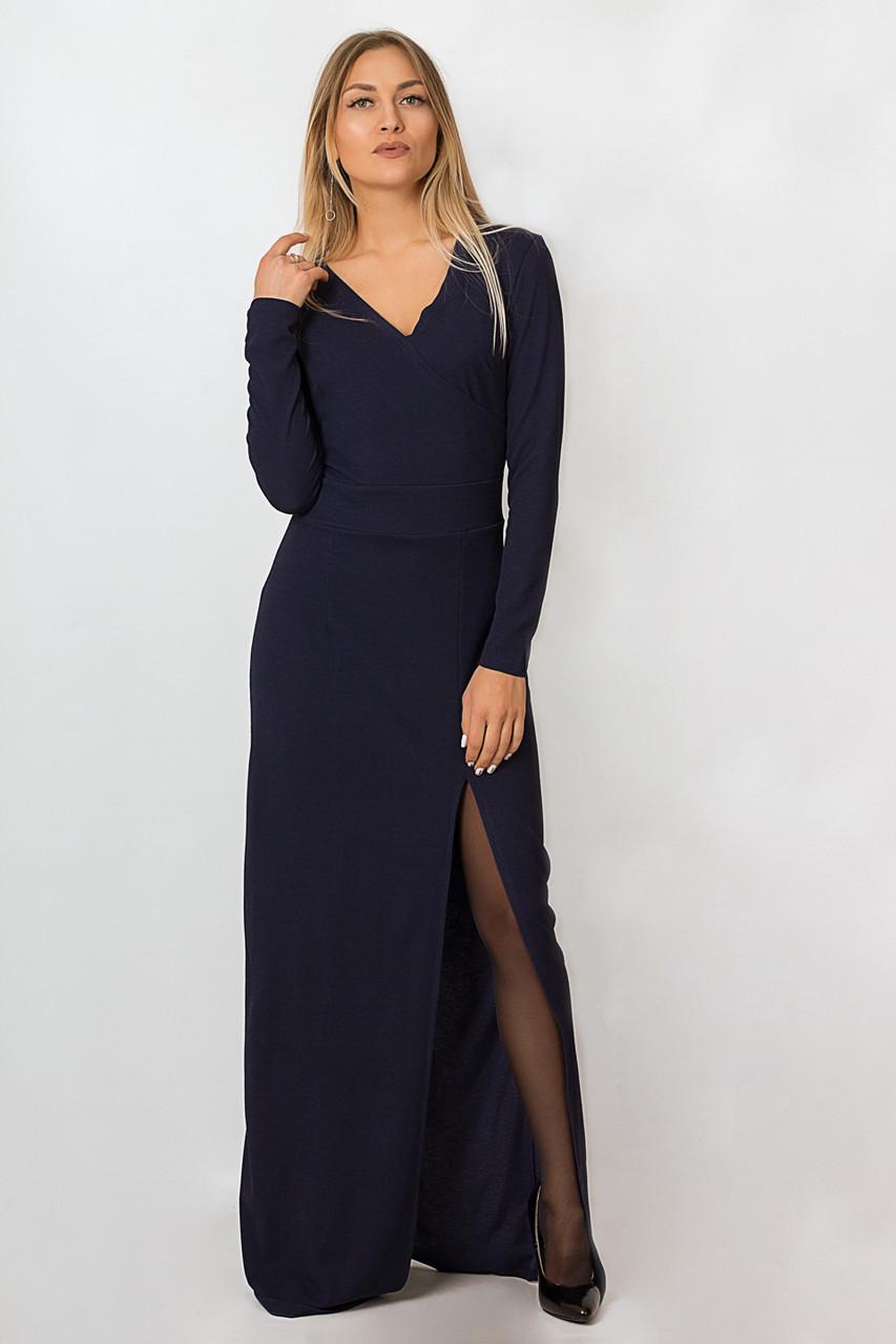 Платье LiLove р15136-3 46-48 темно-синий