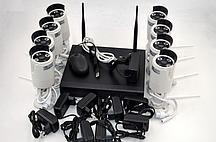 Комплект камер  видеонаблюдения 8008WIFI (8 камер)