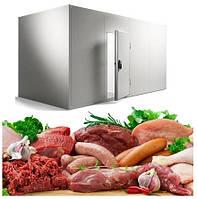 Промышленные холодильные камеры для мяса