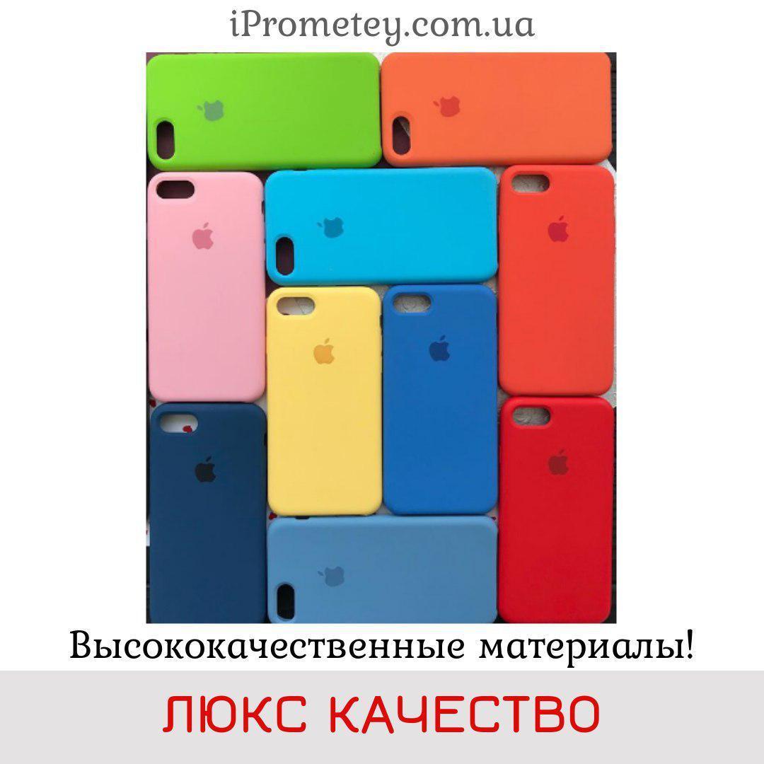 Силиконовый чехол Apple Silicone Case для iPhone 5/5s/SE Soft touch Люкс качество чехлы на айфон