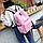 Рюкзак городской молодежный Be Your Розовый, фото 3