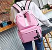 Рюкзак міський молодіжний Be Your Рожевий, фото 2