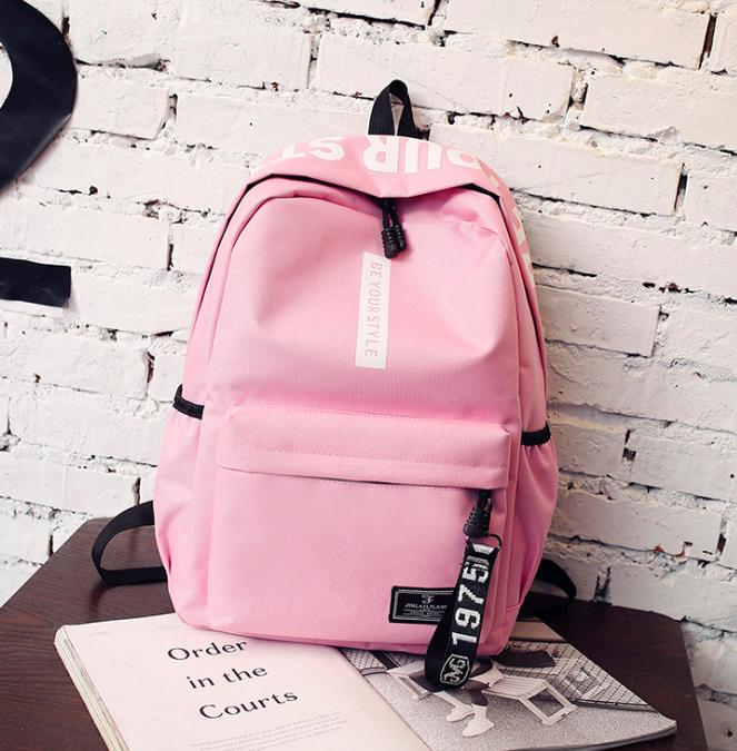 Рюкзак міський молодіжний Be Your Рожевий