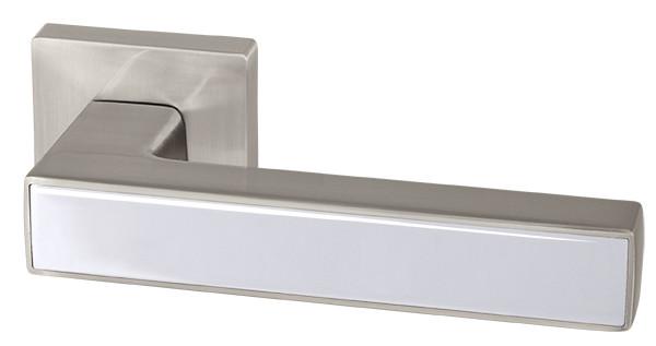 Ручка дверная Armadillo SCREEN USQ8 SN/CP-3 Матовый никель/хром
