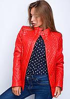 Короткая молодёжная куртка из плащевой ткани (размеры 40-48)