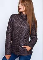 Короткая молодёжная куртка из плащевой ткани (размеры 40, 42, 44)