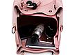 Сумка женская классическая набор 3 в 1 Розовый, фото 10