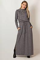Платье LiLove р1291 50 серый