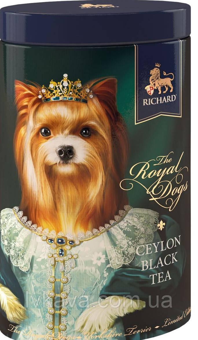 Чай черный цейлонский  Royal Dogs  Richard ,ж\б, 80 гр